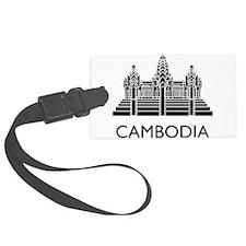 Cambodia Angkor Wat Luggage Tag