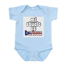 Mi Abuelo Es Boricua Infant Bodysuit