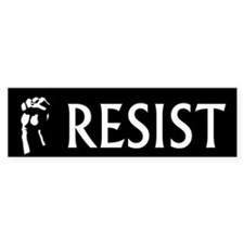 Resist Bumper Bumper Sticker