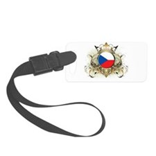Stylish Czech Republic Luggage Tag