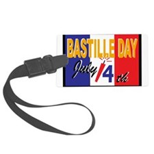 Bastille Day Luggage Tag