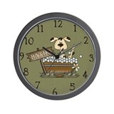 Funny Dog grooming Wall Clock