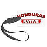 Honduras Native Large Luggage Tag