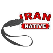 Iran Native Luggage Tag