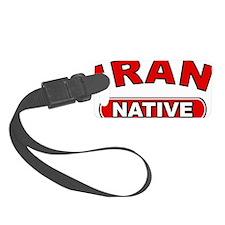 Iran Native Luggage Tag