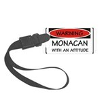 Attitude Monacan Small Luggage Tag