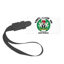 Made In Nigeria Luggage Tag