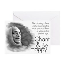 Chant & Be Happy Greeting Cards (Pk of 10)