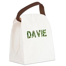 Davie, Vintage Camo, Canvas Lunch Bag