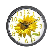 Unique Sunflower seeds Wall Clock