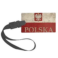 Vintage Polska Luggage Tag
