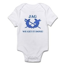 JAG WE GET IT DONE Infant Bodysuit
