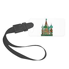 Russia Luggage Tag