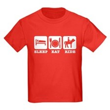 Sleep Eat Ride T-Shirt