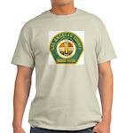 L A County Harbor Patrol Ash Grey T-Shirt