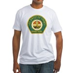 L A County Harbor Patrol Fitted T-Shirt