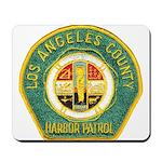 L A County Harbor Patrol Mousepad