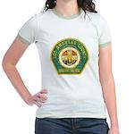 L A County Harbor Patrol Jr. Ringer T-Shirt