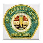 L A County Harbor Patrol Tile Coaster