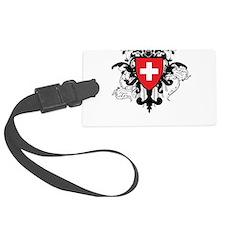 Stylish Switzerland Luggage Tag