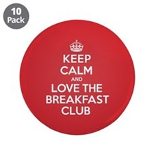 "K C Love The Breakfast Club 3.5"" Button (10 pack)"