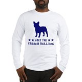 french_bull2_tback Long Sleeve T-Shirt
