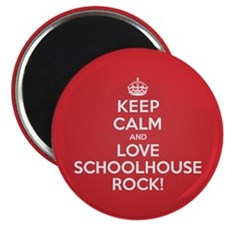 "K C Love Schoolhouse Rock 2.25"" Magnet (100 pack)"