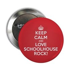 "K C Love Schoolhouse Rock 2.25"" Button (10 pack)"