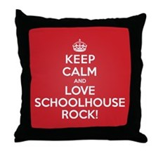 K C Love Schoolhouse Rock Throw Pillow