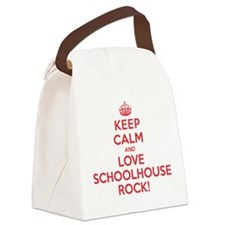 K C Love Schoolhouse Rock Canvas Lunch Bag