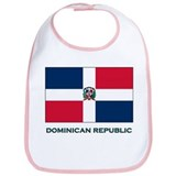 Flag of The Dominican Republi Bib