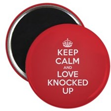 "K C Love Knocked Up 2.25"" Magnet (100 pack)"