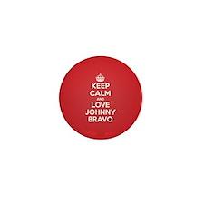 K C Love Johnny Bravo Mini Button (100 pack)