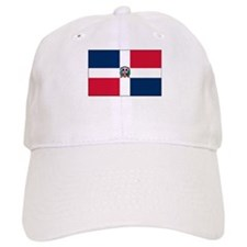 The Dominican Republic Flag Picture Baseball Cap
