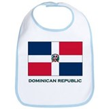 The Dominican Republic Flag Stuff Bib