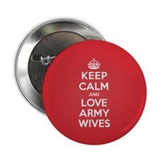 "K C Love Army Wives 2.25"" Button (100 pack)"