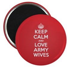 K C Love Army Wives Magnet