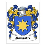Bonastre Coat of Arms Small Poster