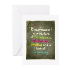 Excitement Greeting Cards (Pk of 20)