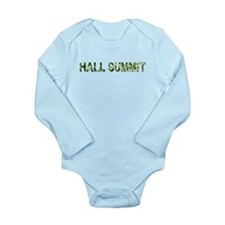 Hall Summit, Vintage Camo, Long Sleeve Infant Body