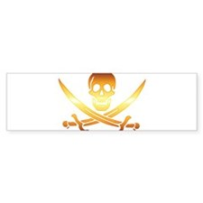 Pirate logo e8 Bumper Sticker