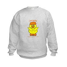 DUCK - LOVE TO BE ME Sweatshirt