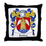 Aviles Coat of Arms Throw Pillow