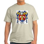 Aviles Coat of Arms Ash Grey T-Shirt