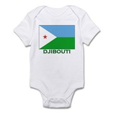 Flag of Djibouti Infant Bodysuit