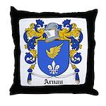 Arnau Coat of Arms Throw Pillow