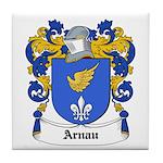 Arnau Coat of Arms Tile Coaster