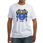 Arnau Coat of Arms Fitted T-Shirt