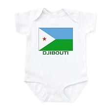 Djibouti Flag Stuff Infant Bodysuit
