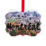 Cute Canada Picture Ornament